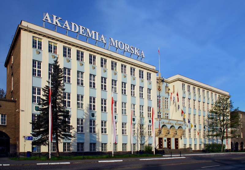 Gdynia Maritime University - main building